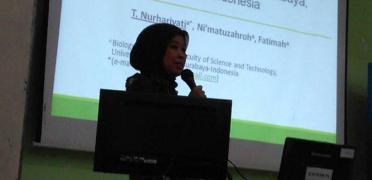 Yeast pendegradasi heksadekan dan pemroduksi biosurfaktan hasil isolasi dari pelabuhan Tanjung Perak, Surabaya
