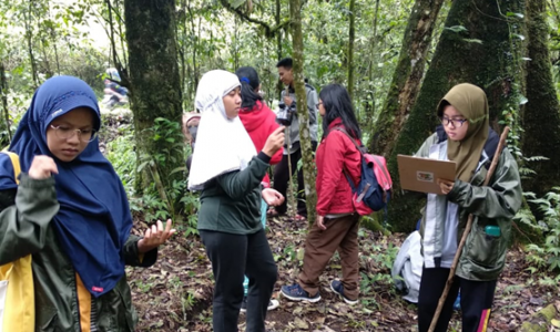 Training and Development of Field Research (P3L) in Raden Soerjo Forest Park